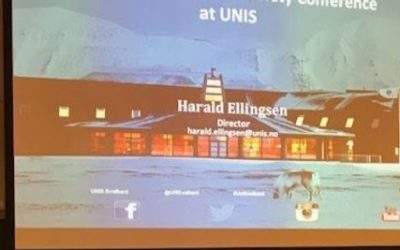 Lisbeth Iversen on the Arctic Safety Conference