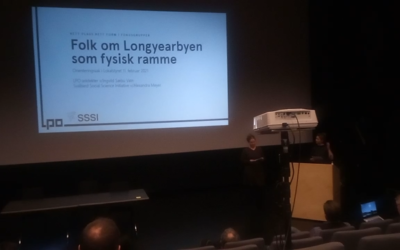 Presentation of the focus group project at Lokalstyret meeting
